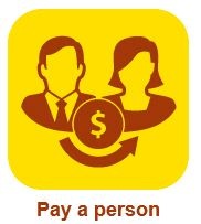 pay a person icon