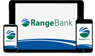 Range Bank App photo for tablet and mobile
